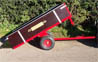 SCH GWTS 10 2 wheel Timer Tipping Trailer