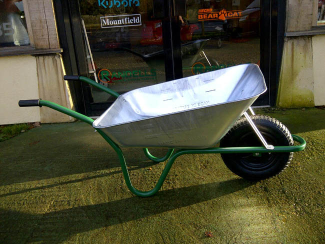 Easiload Galvanised Wheelbarrow